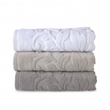 Didesnis vonios kilimėlis - VISCONTI WHITE